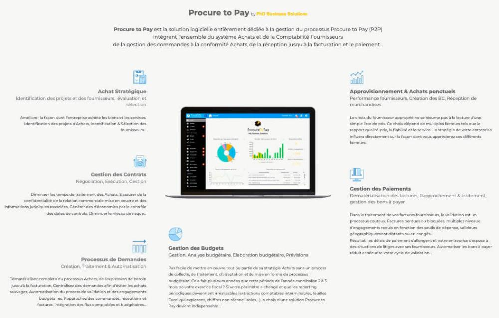 Procure to Pay : Les clés de la réussite de son projet - Procure to Pay by PhD Business Solutions